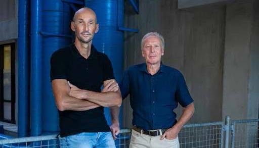 Paul Kuijer en Bas Sorgdrager